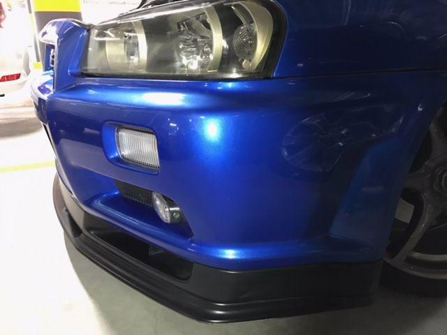 1999 Nissan Skyline R34 GT-R VSpec left front bumper