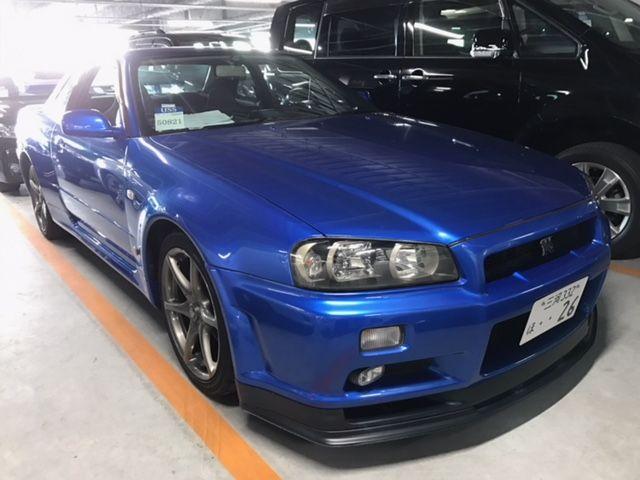 1999 R34 GTR VSpec Bayside Blue