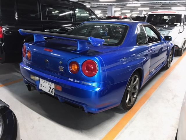 1999 Nissan Skyline R34 GT-R VSpec right rear