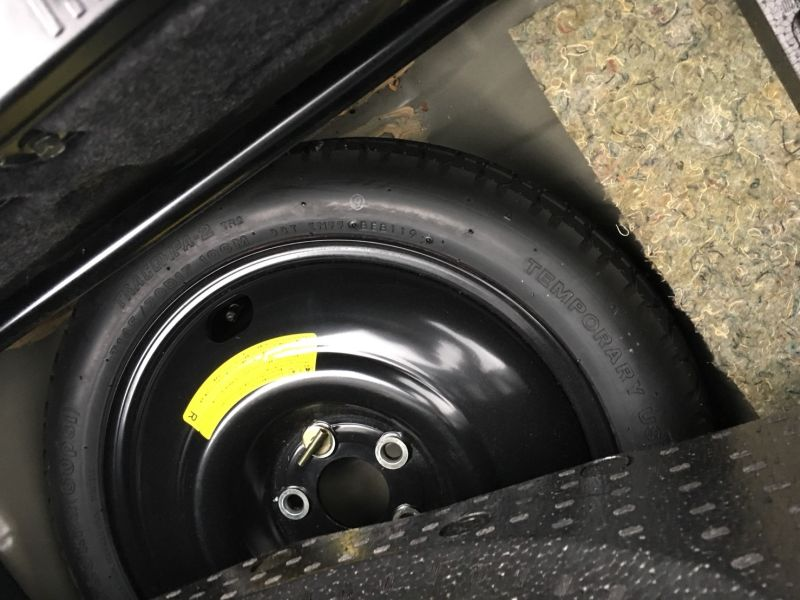 1999 Nissan Skyline R34 GT-R VSpec spare tyre