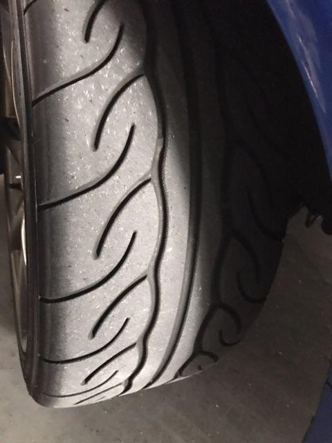1999 Nissan Skyline R34 GT-R VSpec tyre 2