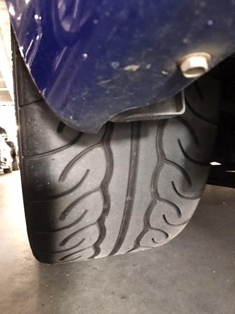 1999 Nissan Skyline R34 GT-R VSpec tyre 3