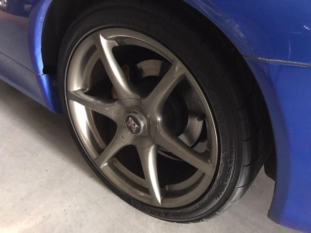 1999 Nissan Skyline R34 GT-R VSpec wheel 3