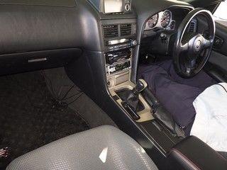 2000 Nissan Skyline R34 GTR VSpec auction interior