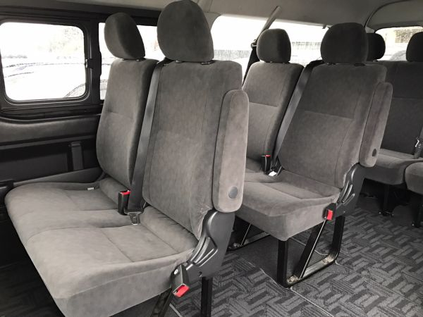2014 Toyota Hiace GL 4WD TRH219 seating