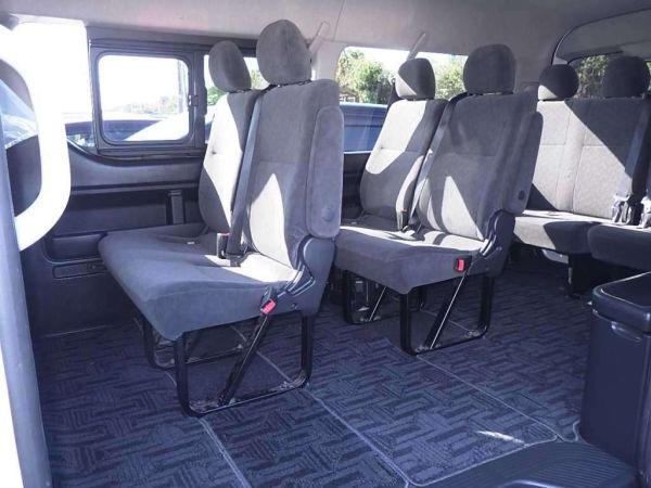 2014 Toyota Hiace GL 4WD TRH219 seats