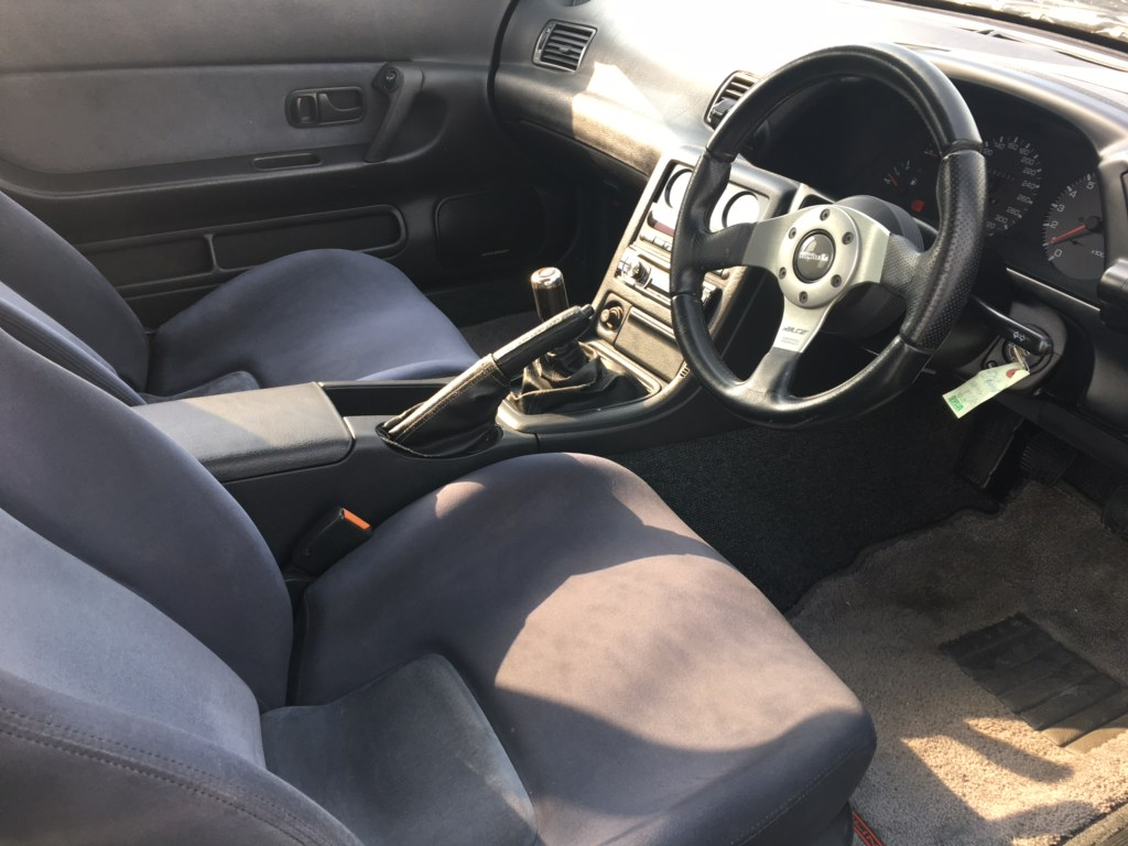 1993 Nissan Skyline R32 GT-R VSpec seat
