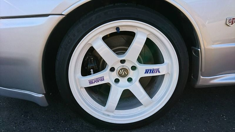 1994 Nissan Skyline R32 GT-R Series 3 wheel