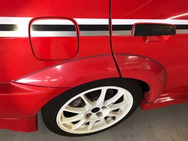 2000 Mitsubishi Lancer EVO 6 TME fuel lid