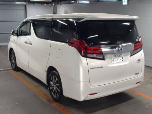 2015 Toyota Alphard Hybrid G Package 4WD 2.5L auction rear