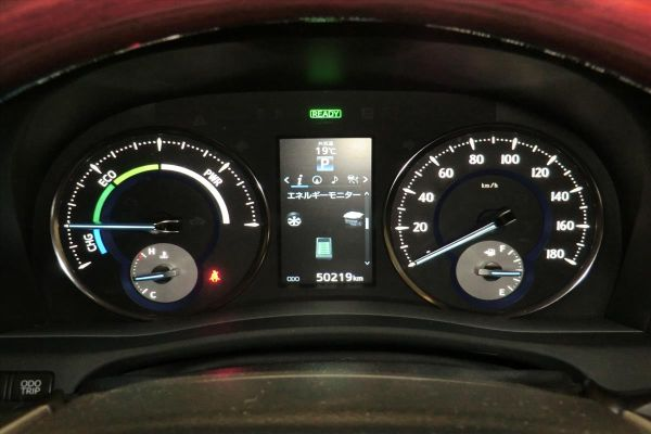 2015 Toyota Alphard Hybrid G Package 4WD 2.5L instruments