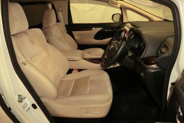 2015 Toyota Alphard Hybrid G Package 4WD 2.5L interior 2
