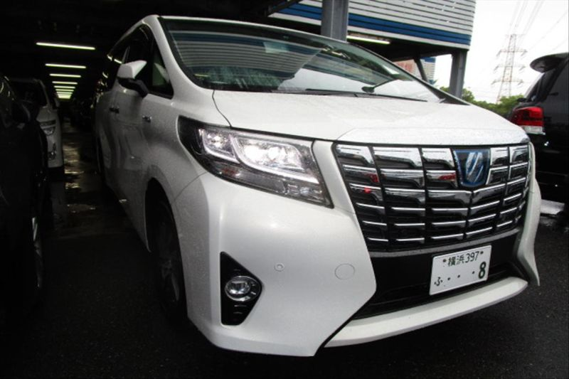 2015 Toyota Alphard Hybrid G Package 4WD 2.5L right front
