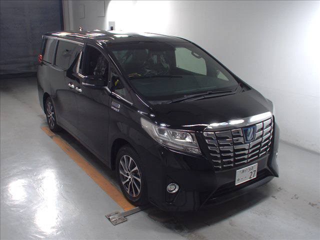 2016 TOYOTA ALPHARD ROYAL LOUNGE