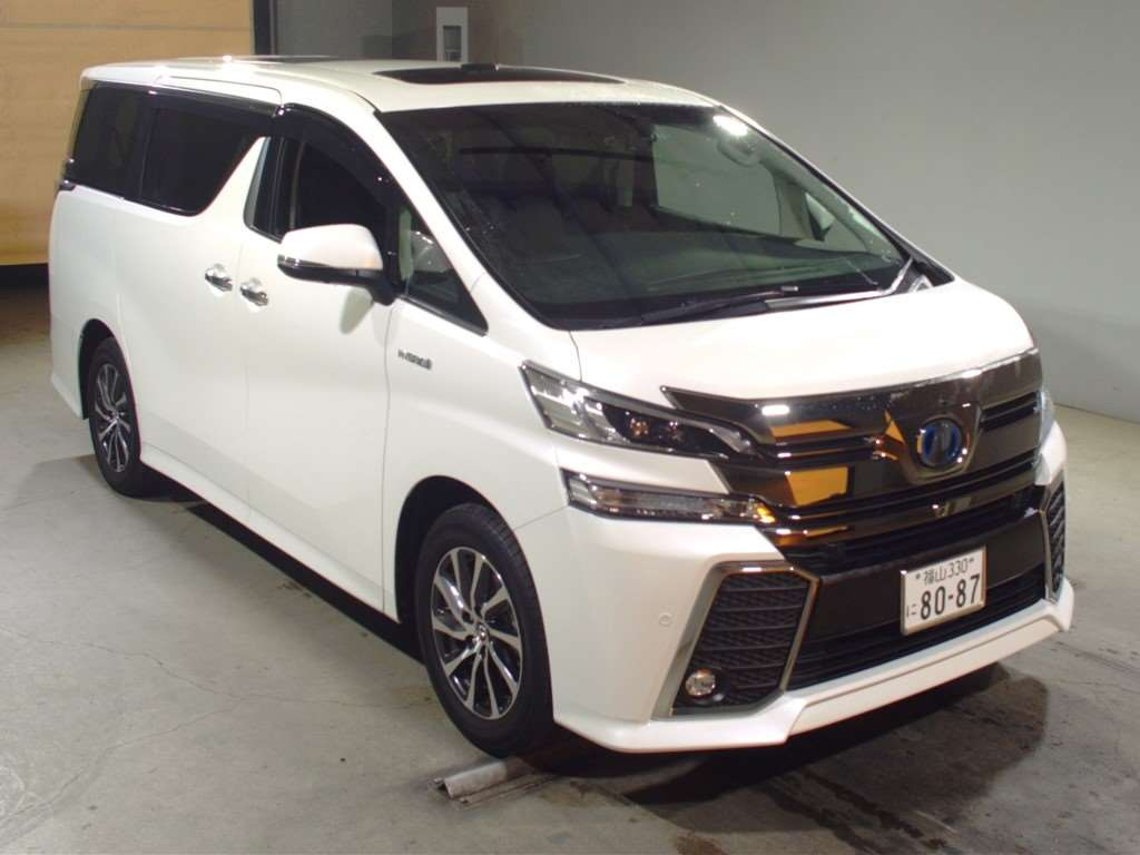2016 TOYOTA VELLFIRE HYBRID AYH30W 2.5L 4WD ZR G EDITION with JBL SOUND