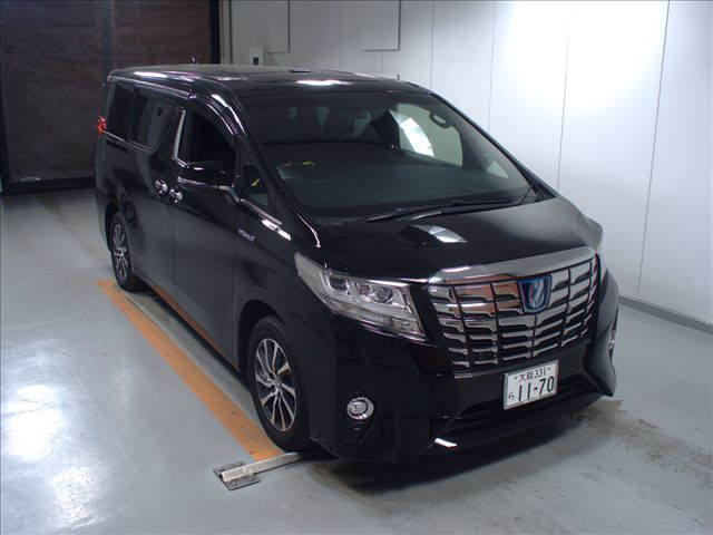 2016 Toyota Alphard Executive Lounge black