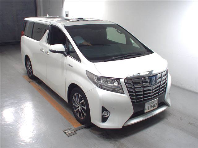 2016 Toyota Alphard Executive Lounge white
