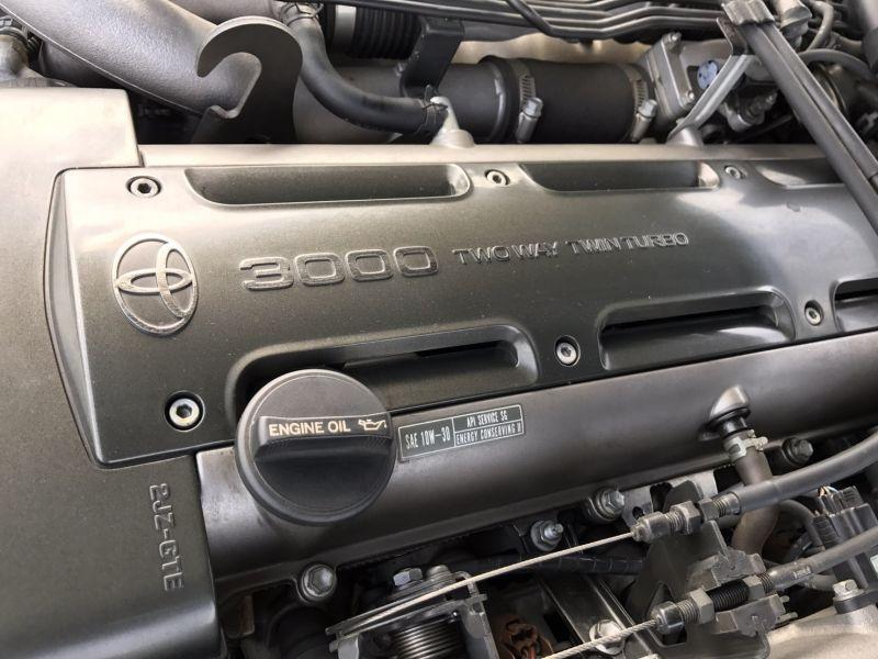 1993 Toyota Supra GZ AEROTOP Twin Turbo engine