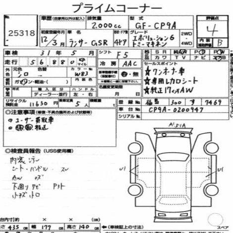2000 Mitsubishi Lancer EVO 6.5 Tommi Mäkinen Edition auction report