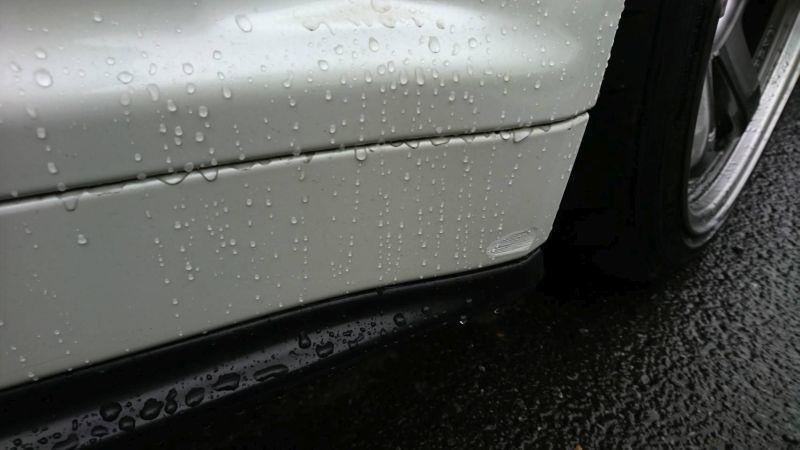 2001 Nissan Skyline R34 GT-R sideskirt scrape