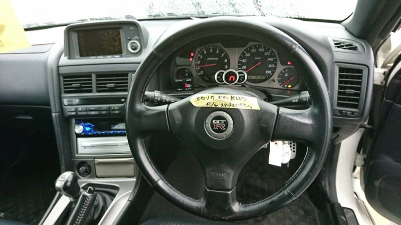 2001 Nissan Skyline R34 GT-R steering wheel