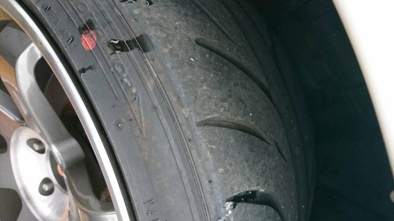 2001 Nissan Skyline R34 GT-R tread