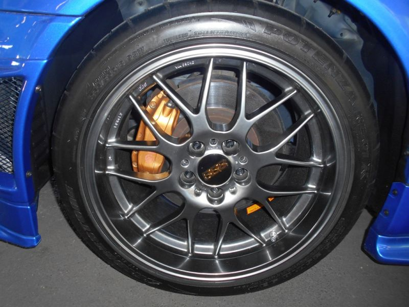 2001 R34 GTR VSpec II Bayside Blue wheel 2 a