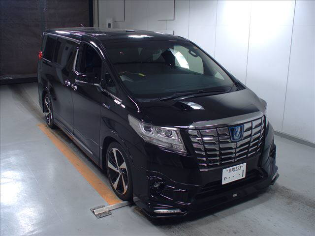 2015 Toyota Alphard HYBRID Executive Lounge 4WD 2.5L auction right front
