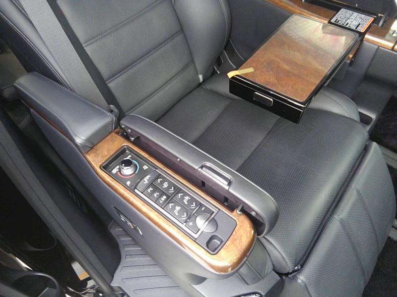 2015 Toyota Alphard HYBRID Executive Lounge 4WD 2.5L rear seat controls