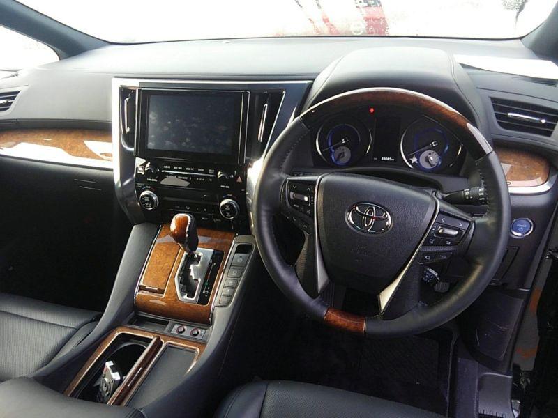 2015 Toyota Alphard HYBRID Executive Lounge 4WD 2.5L steering wheel