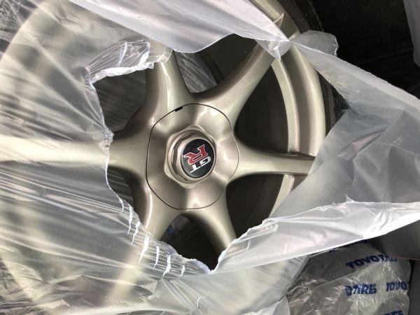 1999 Nissan Skyline R34 GTR VSpec Bayside Blue factory wheels