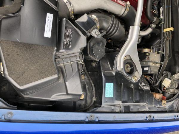 1999 Nissan Skyline R34 GTR VSpec Bayside Blue fender 1