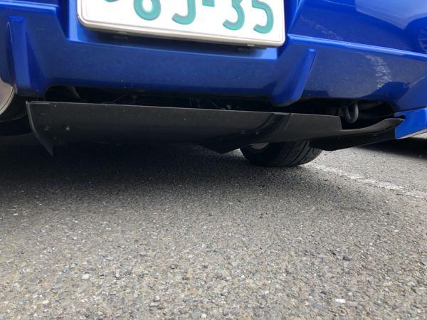 1999 Nissan Skyline R34 GTR VSpec Bayside Blue rear diffuser