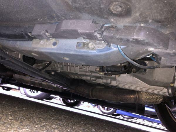 1999 Nissan Skyline R34 GTR VSpec Bayside Blue underbody 5
