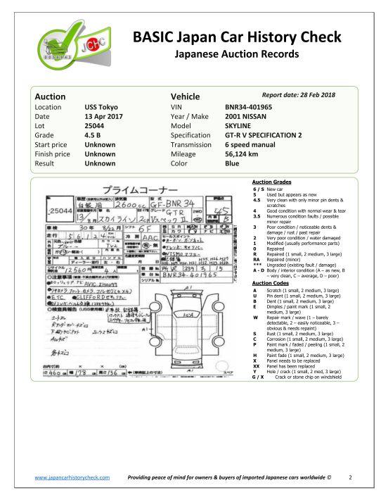 2001 Nissan Skyline R34 GT-R VSpec 2 Report 3