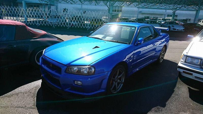 2001 Nissan Skyline R34 GT-R VSpec 2 left front