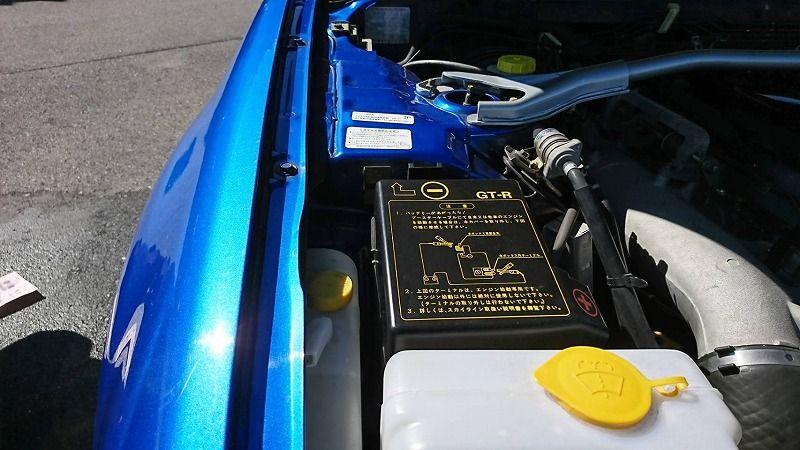 2001 Nissan Skyline R34 GT-R VSpec 2 right fender