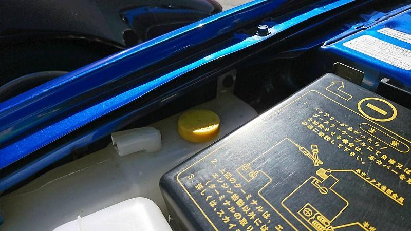 2001 Nissan Skyline R34 GT-R VSpec 2 right front fender