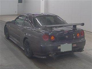 1999 Nissan Skyline R34 GTR VSpec MP2 auction rear