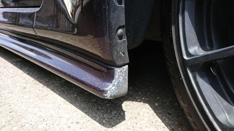 1999 Nissan Skyline R34 GTR VSpec MP2 left bumper