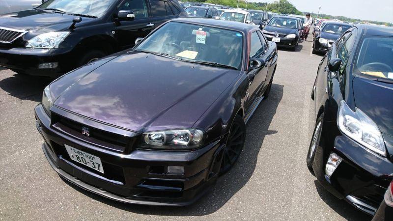 1999 Nissan Skyline R34 GTR VSpec MP2 left front