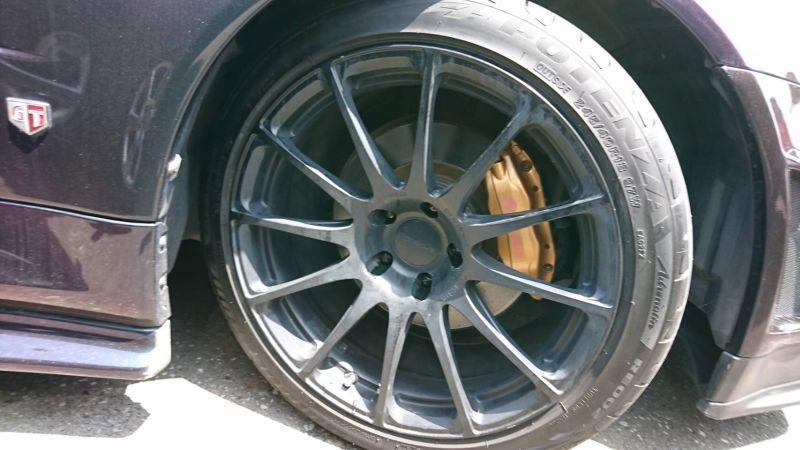 1999 Nissan Skyline R34 GTR VSpec MP2 wheel