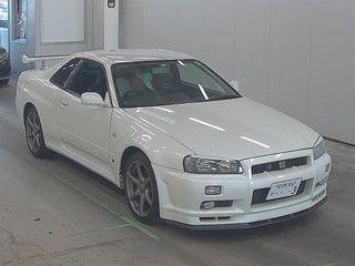 2002 Nissan Skyline R34 GTR MSpec auction front