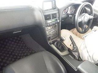 2002 Nissan Skyline R34 GTR MSpec auction interior