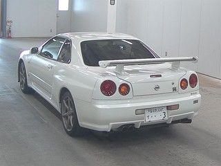 2002 Nissan Skyline R34 GTR MSpec auction rear