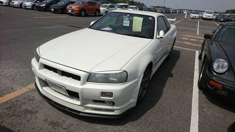 2002 Nissan Skyline R34 GTR MSpec left front