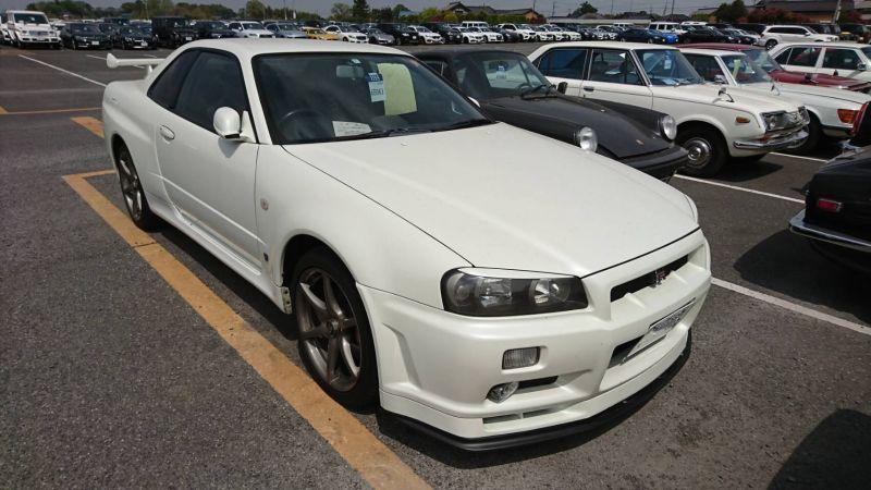 2002 Nissan Skyline R34 GTR MSpec right front
