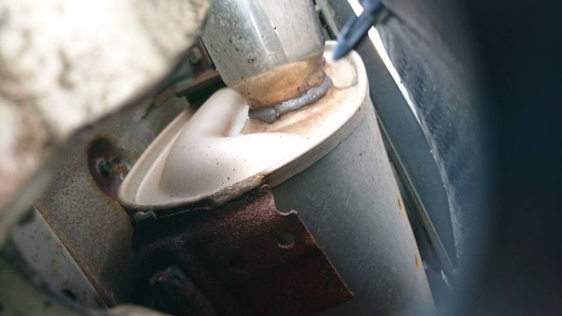 2002 Nissan Skyline R34 GTR MSpec rust 6