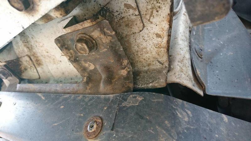 2002 Nissan Skyline R34 GTR MSpec underbody rust