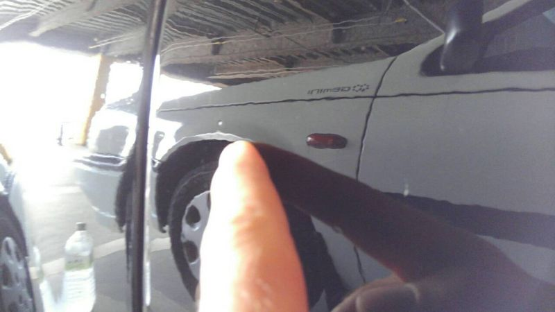 1976 PORSCHE 911 S paint problems